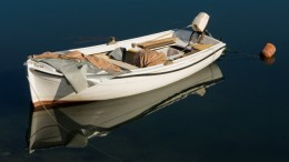 Čamac na Neretvi