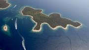 Otok Proizd plaža godine 2007