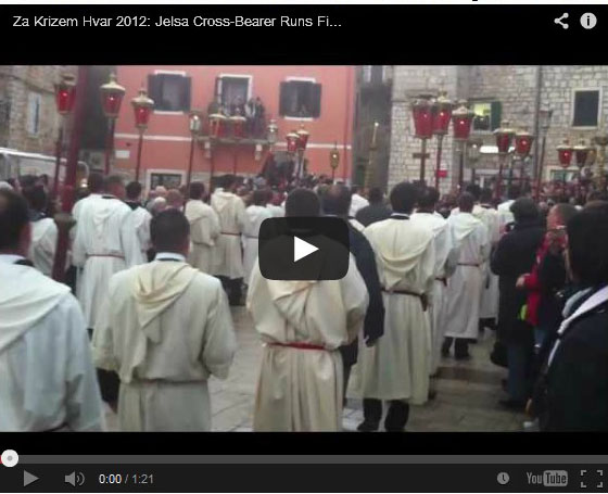 Central Dalmatia Blog Unique Traditions in Dalmatia The Easter Procession in Jelsa1