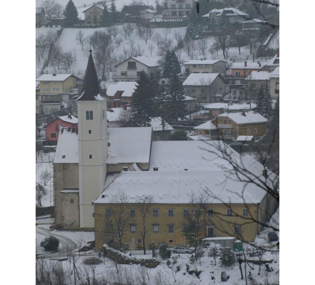 Krapina u snijegu wp