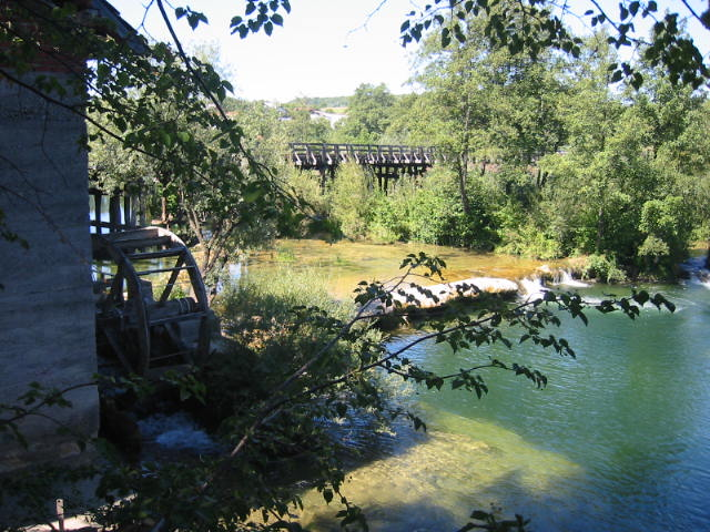 most-u-belavicima Mrežnica Duga Resa