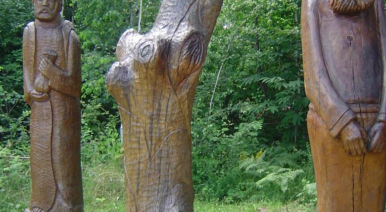 Park skulptura u Mariji Bistrici
