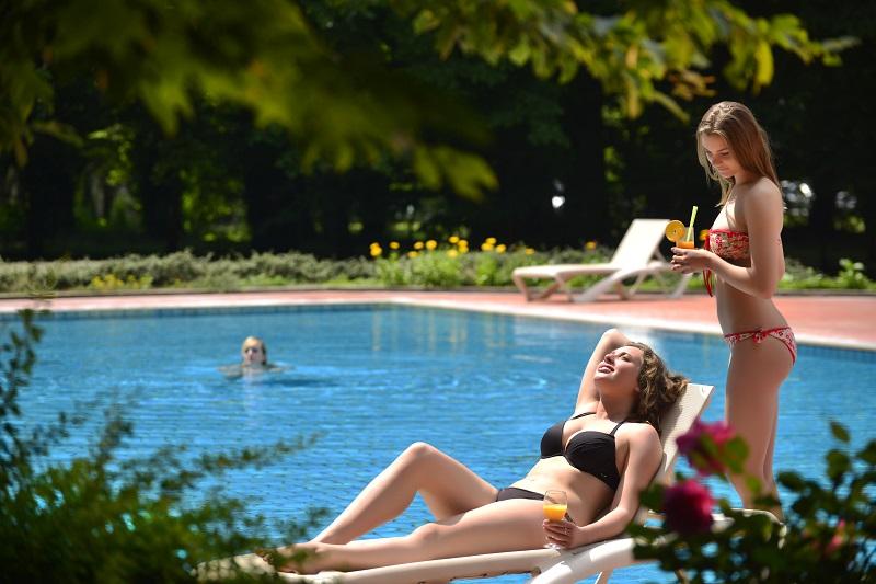 Daruvarske toplice - Hotel Termal- vanjski bazeni