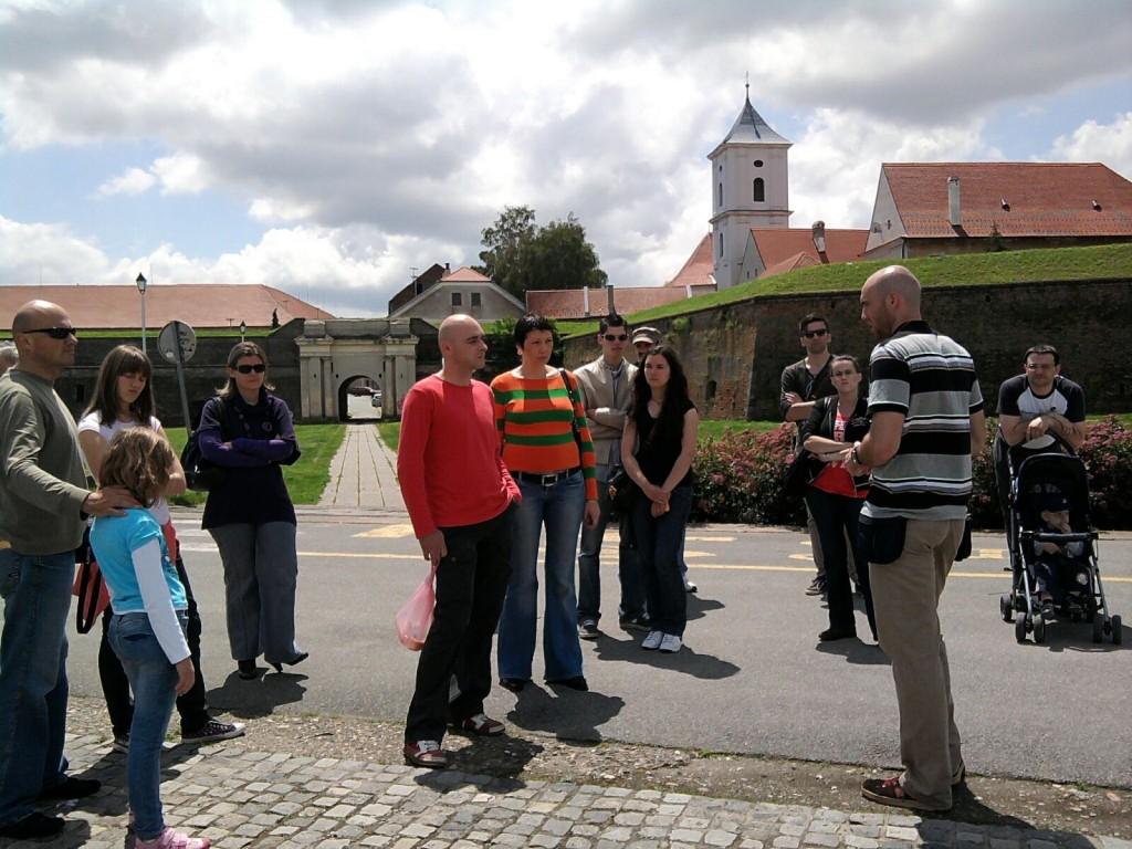 Osijek grupa Tvrđa zidine