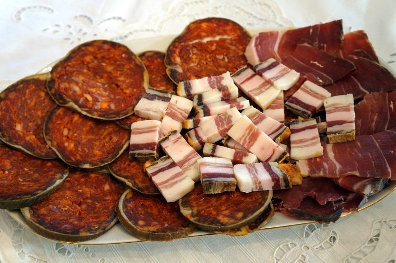 Kulin, slanina, šunka