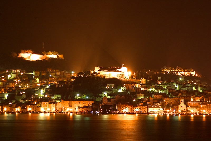Šibenik by night