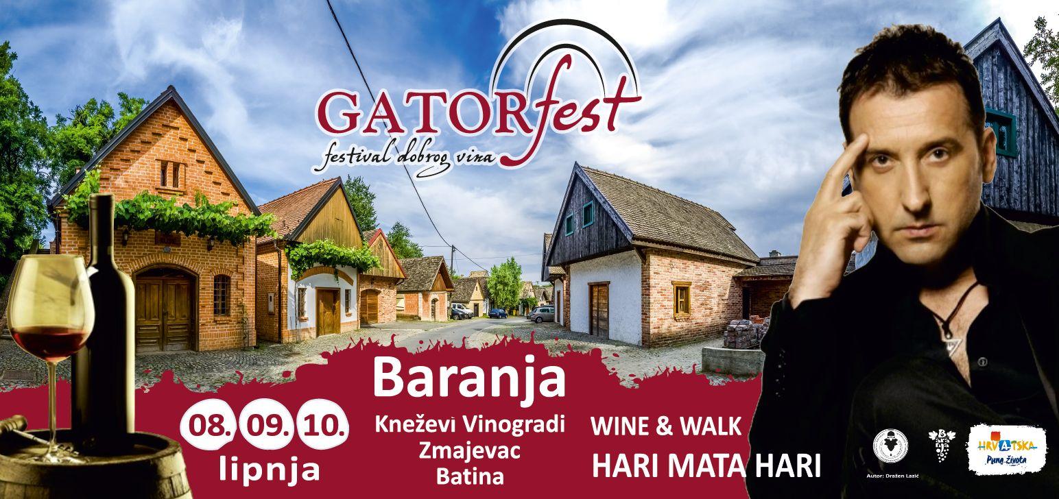 Gatorfest - festival dobrog vina
